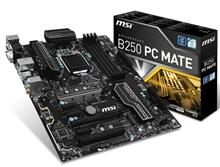 MSI B250 PC MATE LGA 1151 Motherboard